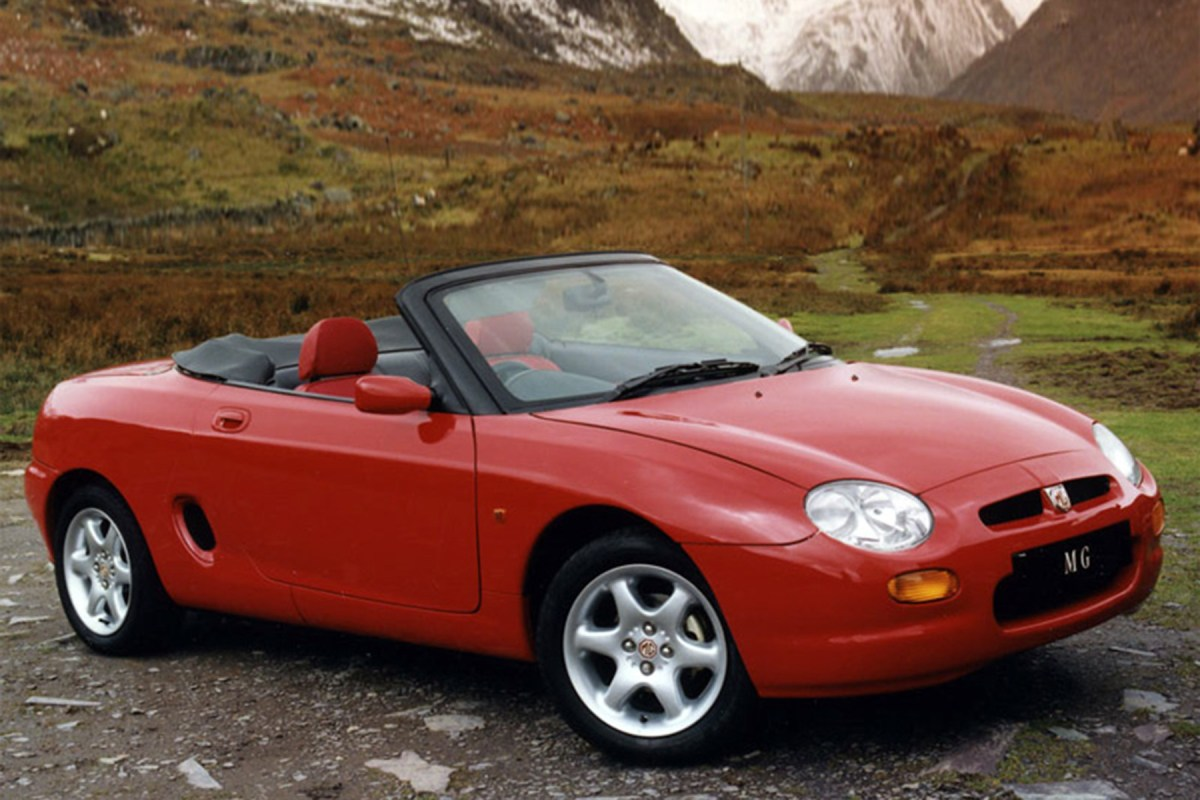 The cars : MGF and TF development story (PR3)